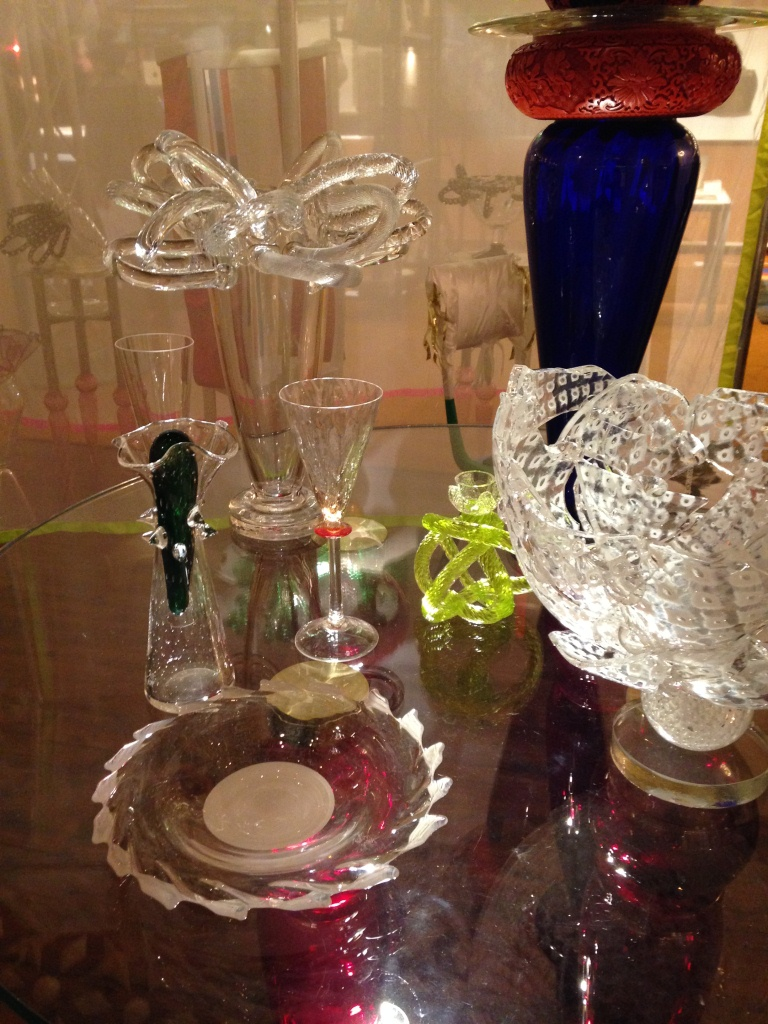 Glass art work of Borek Sipek