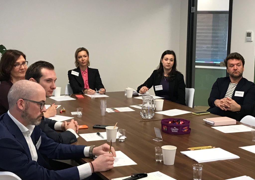 Business Lunch Participants