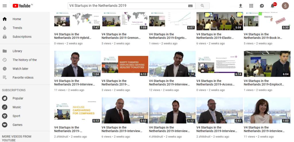V4 Startups Youtube channel