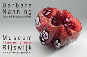 Barbara Nanning exhibition in Rijswijk - poster