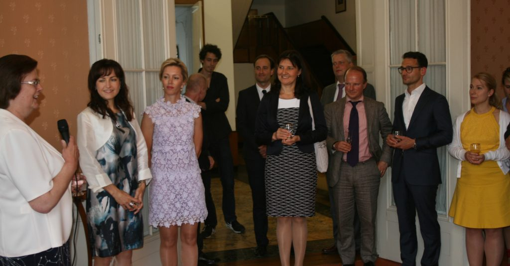 Reception at the Czech Embassy, June 2017