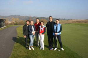 Participants of golf academy, Panorama Golf Resort
