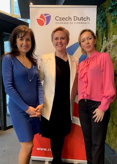 Business Lunch_Katerina Veliskova, Vladimira van Aarle, Alena Hielema
