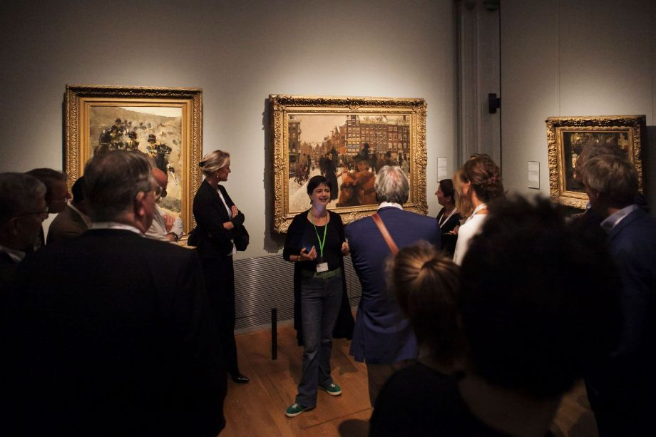 Short tour through the Rijksmuseum during the event