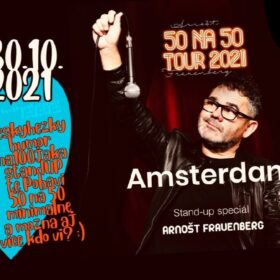 Stand-up comedian show '50 na 50 Tour 2021'